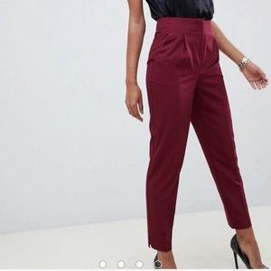 ASOS mix and match cigarette pants